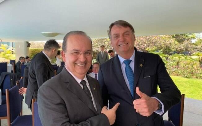 Jair Bolsonaro avalizou o nome de Jorginho Mello para a vice-liderança no Congresso.