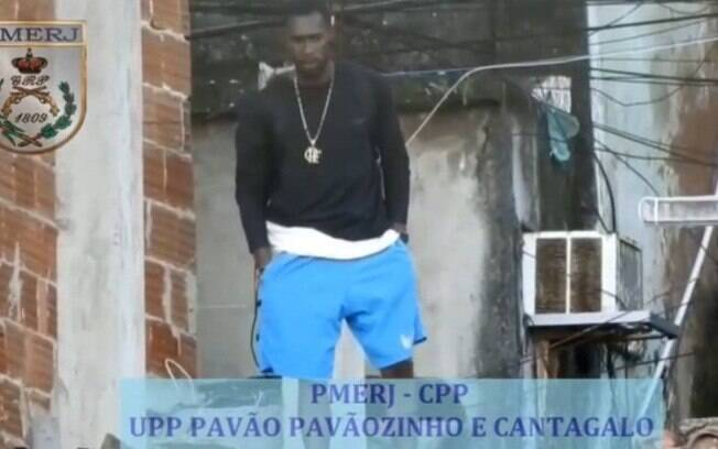 Michel Mendes de Souza, (Homem de Gelo),  foi preso em Copacabana
