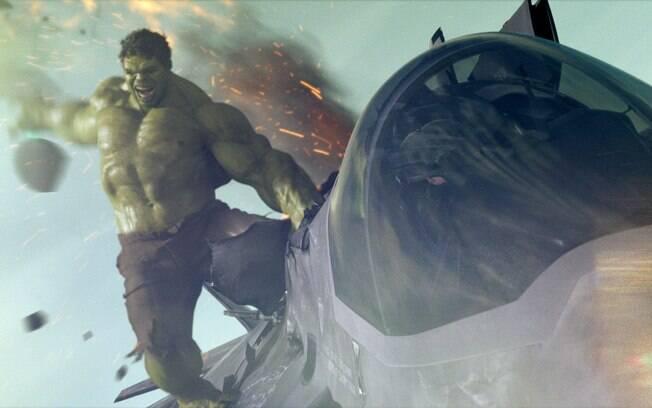 Mark Ruffalo como Bruce Banner, o Hulk, em