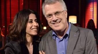 Pedro Bial e Fernanda Torres viveram casamento de três anos
