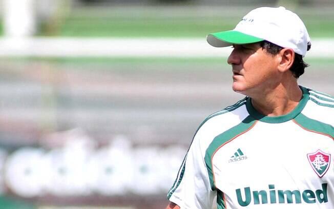 Muricy Ramalho comandou o Fluminense entre  2010 e 2011