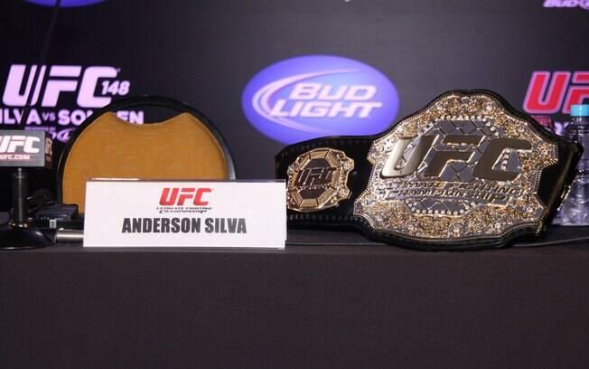 Cinturão de Anderson Silva