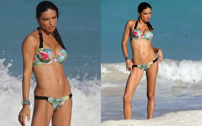 Adriana Lima é casada com o jogador de basquete Marko Jaric
