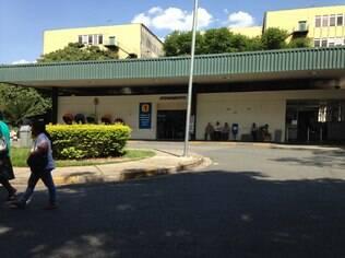 A fachada do Hospital Universitário da USP