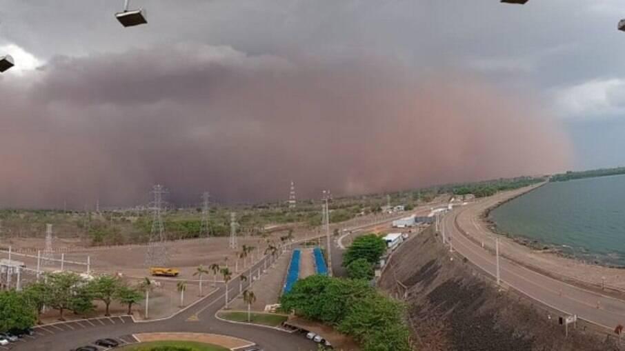 Fenômeno também foi registrado em São Paulo nos últimos dias