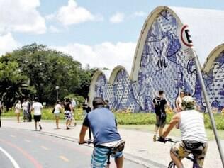 Andamento. Ciclista diz que avanços foram feitos, mas que a cidade ainda tem potencial a ser explorado