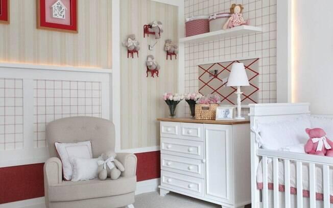 Ideias Decoracao Para Quarto De Bebe ~ 90 ideias para decorar quartos de beb?s e crian?as  Decora??o