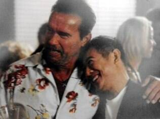 Arnold Schwarzenegger e Jet Li: um casal em