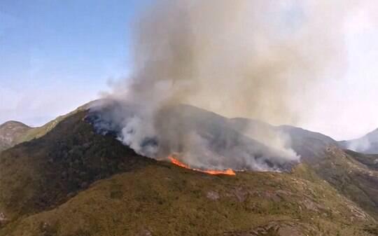 Seca no Sudeste faz incêndios florestais crescerem até 275% em 2014 - Brasil - iG