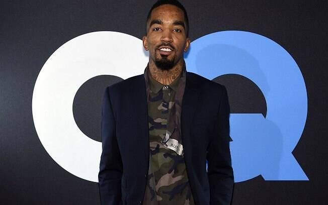 J.R. Smith, jogador do Cleveland e vencedor do primeiro NBA All-Star All-Style Fashion Show