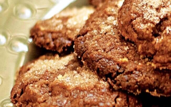 Foto da receita Cookie de chocolate e castanha-do-pará pronta.