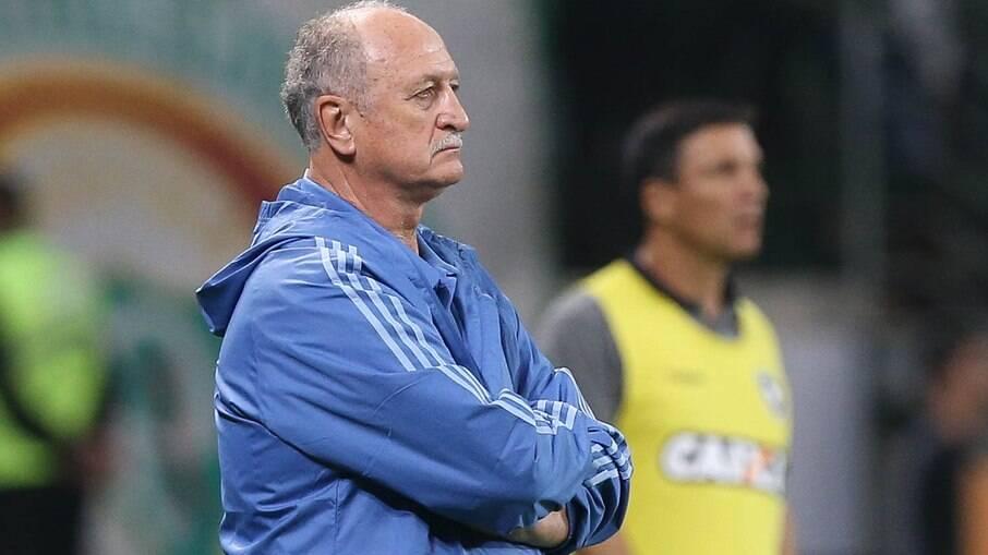 Técnico Luiz Felipe Scolari