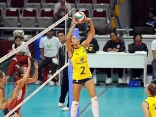 Naiane é bicampeã do Sul-Americano juvenil com a seleção brasileira