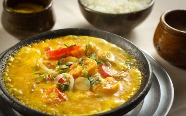 Moqueca de camarão era um dos pratos preferidos de Jorge Amado