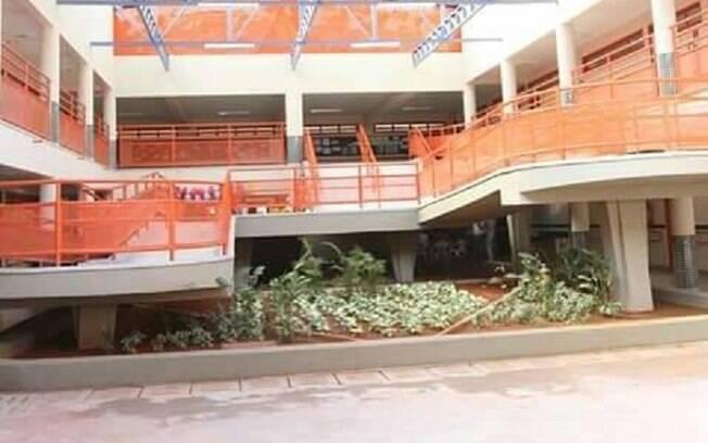 Falsa ameaça de bomba na Escola Classe 19 de Taguatinga Norte mobilizou equipes da Polícia Militar, que isolaram a áerea