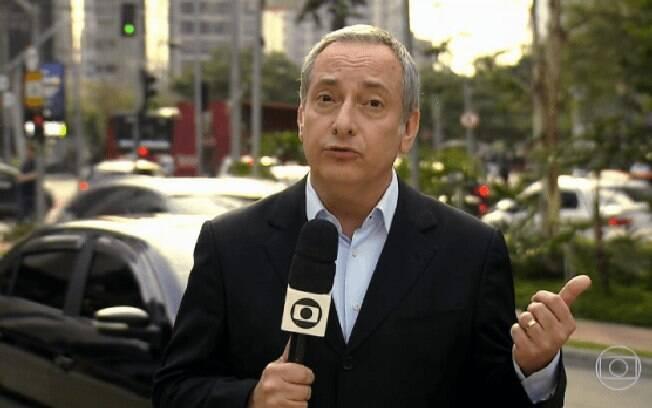 Jornalista José Roberto Buernier é um dos principais repórteres da Rede Globo