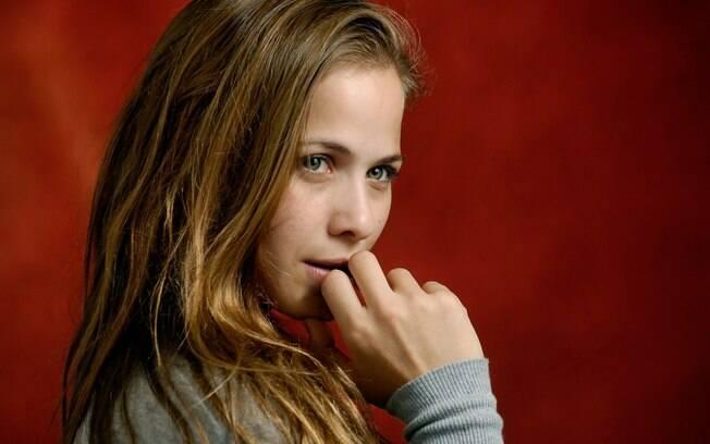 A atriz começou a carreira artística aos 13 anos fazendo comerciais