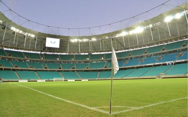 Arena Fonte Nova tem capacidade para 50 mil pessoas
