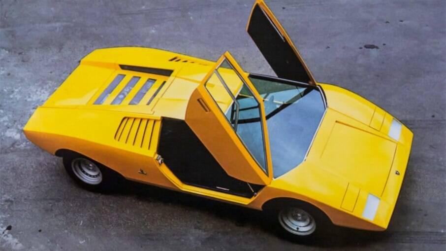 Lamborghini Countach 50 anos