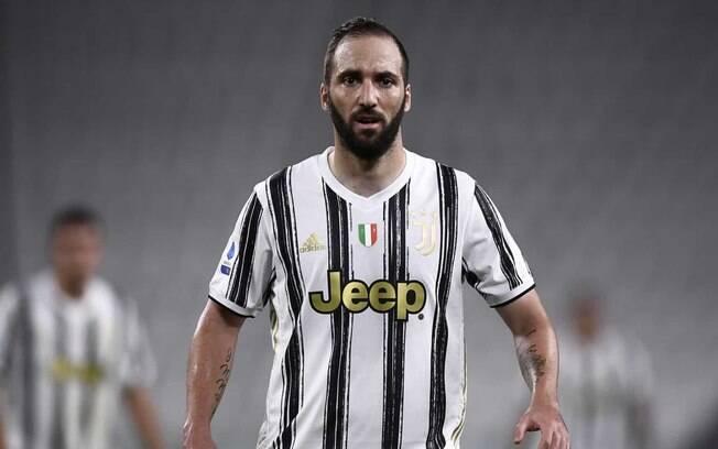 Higuaín não é mais jogador da Juventus