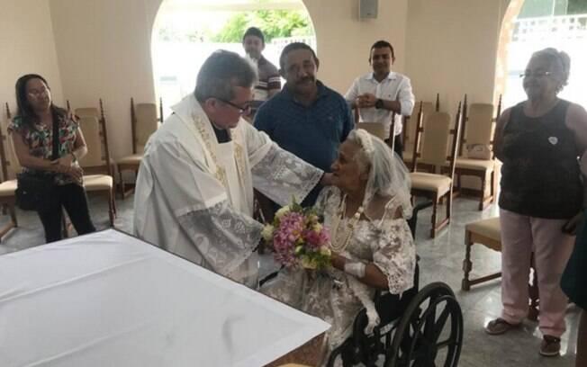 A cerimônia foi realizada na capela do Hospital São Vicente de Paula, na cidade de Barbalha, interior do Ceará