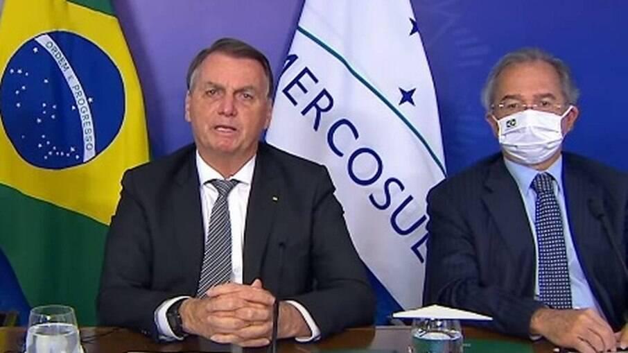 Bolsonaro defende redução da tarifa externa do bloco