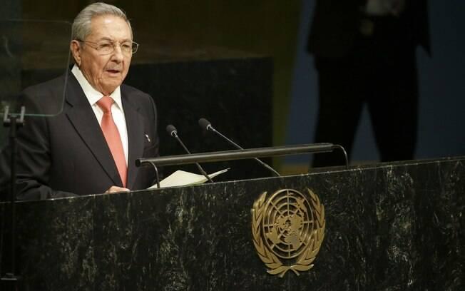 Raúl Castro defendeu o atual governo da Venezuela e atacou os Estados Unidos