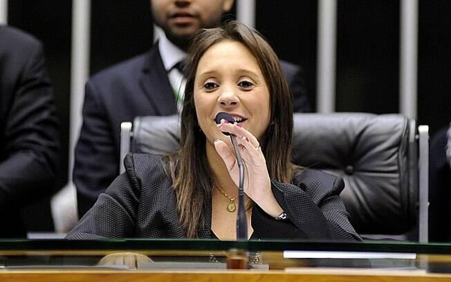 A deputada federal Renata Abreu (PTN-SP):