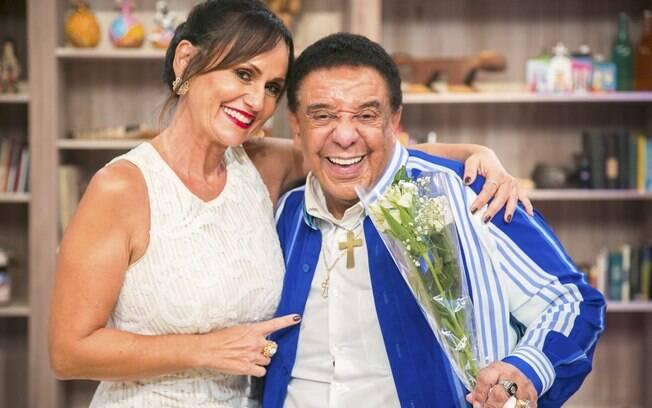 Agnaldo Timóteo é o convidado de Faa Morena no