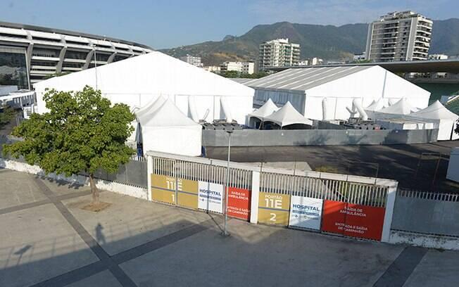 Governo do Estado anuncia fechamento do Hospital de Campanha do Maracanã