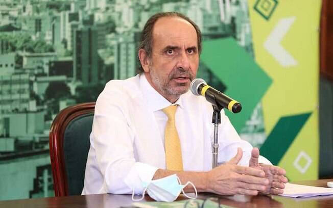 Prefeito reeleito de Belo Horizonte Alexandre Kalil (PSD)