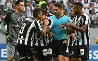 Por 9x0, STJD rejeita pedido do Botafogo e mantém vitória do Palmeiras
