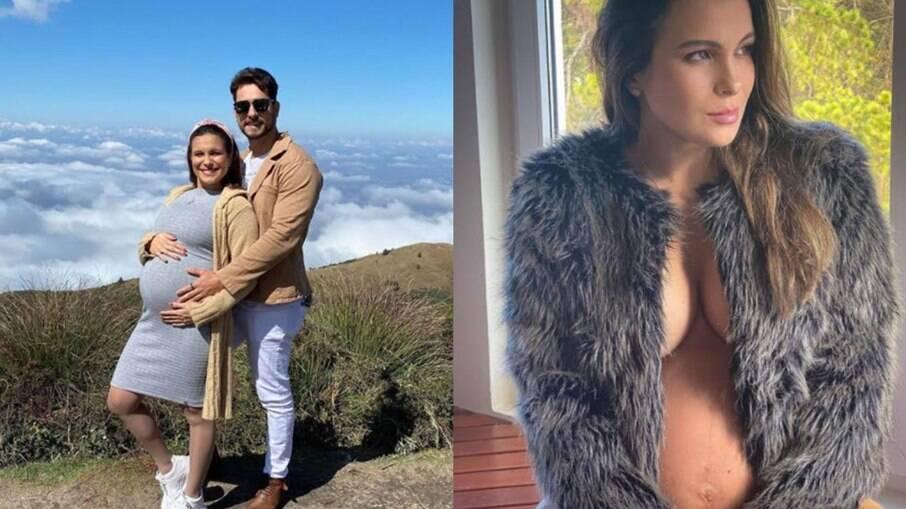 Kamilla Salgado curte viagem romântica junto do marido Elieser Ambrósio