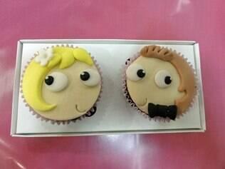 Cupcakes com coberturas planas ou em 3D