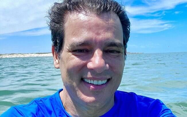 Celso Portiolli rebate seguidor que criticou a aparência dele