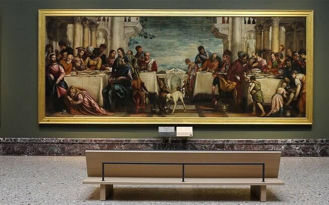 A Pinacoteca di Brera fica em Milão, na Itália
