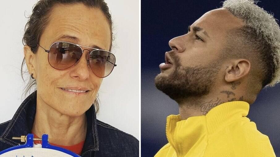 Zélia Duncan e Neymar Jr.