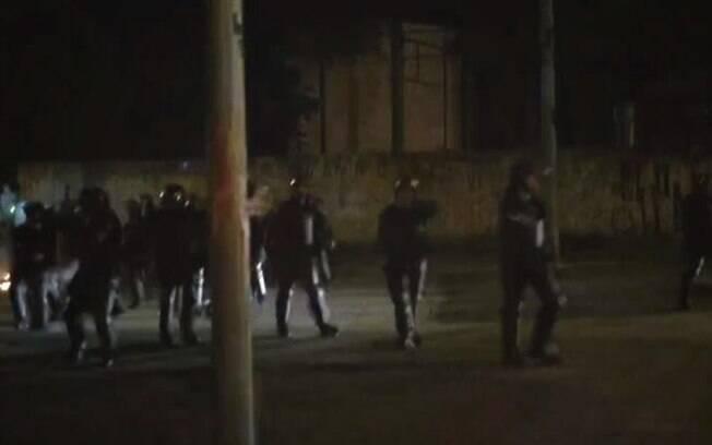 Segundo a Secretaria de Segurança Pública (SSP), o conflito começou após um tumulto na estação do metrô