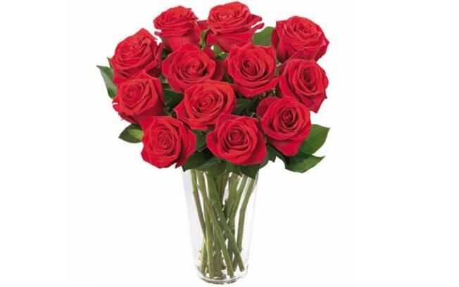 Brilhantes Rosas Vermelhas no Vaso; Por: R$ 232,90 em até 3x de R$ 77,63