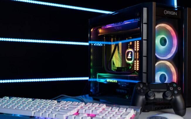 Computador vem com videogame embutido