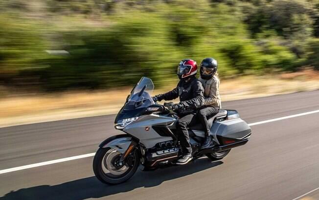 Honda Gold Wing 2021: modelo touring agora passa a ficar mais confortável para longas viagens com as novidades adotadas