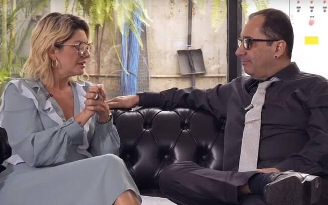 Antonia Fontenelle e Jorge Kajuru