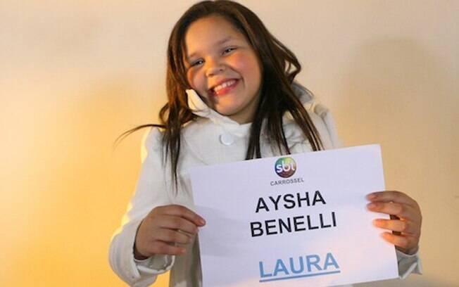 Aysha Benelli, filha de Simony, é a mais nova integrante do time: estreará em