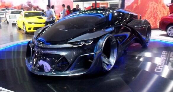 Veja os carros mais exóticos do Salão de Pequim