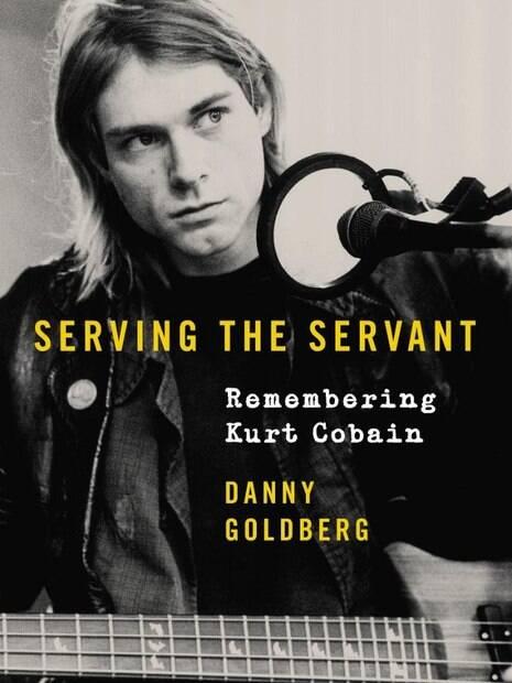Capa do livro de Kurt Cobain