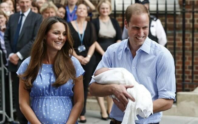 William sobre o filho: 'Tem mais cabelo do que eu!'