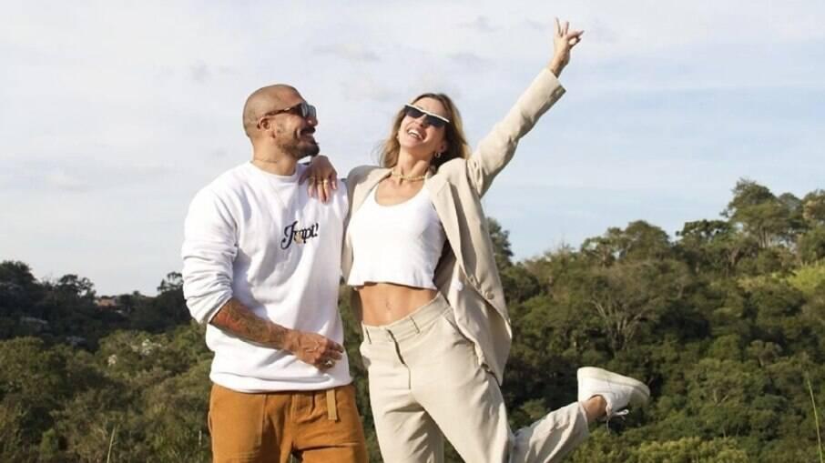Fernando Medeiros e Aline Gotschalg