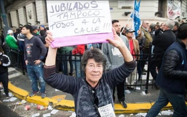 Presidente da Argentina, Mauricio Macri, está pressionado pelos trabalhadores argentinos