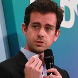 Jack Dorsey, cofundador do Twitter, em conferência em Munique