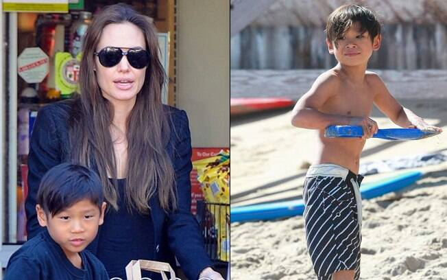 Angelina Jolie: mãezona para Pax